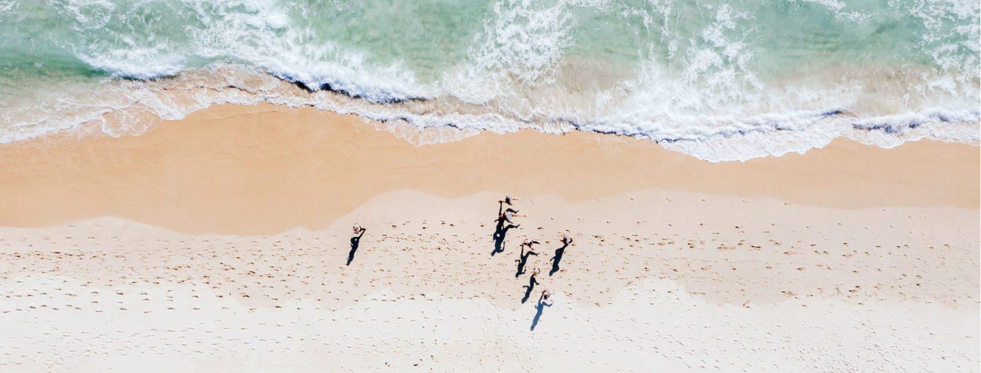 City beach running WA