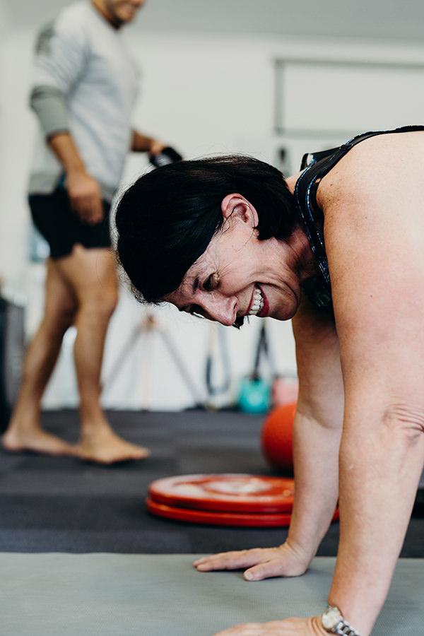 City Beach Gym Training